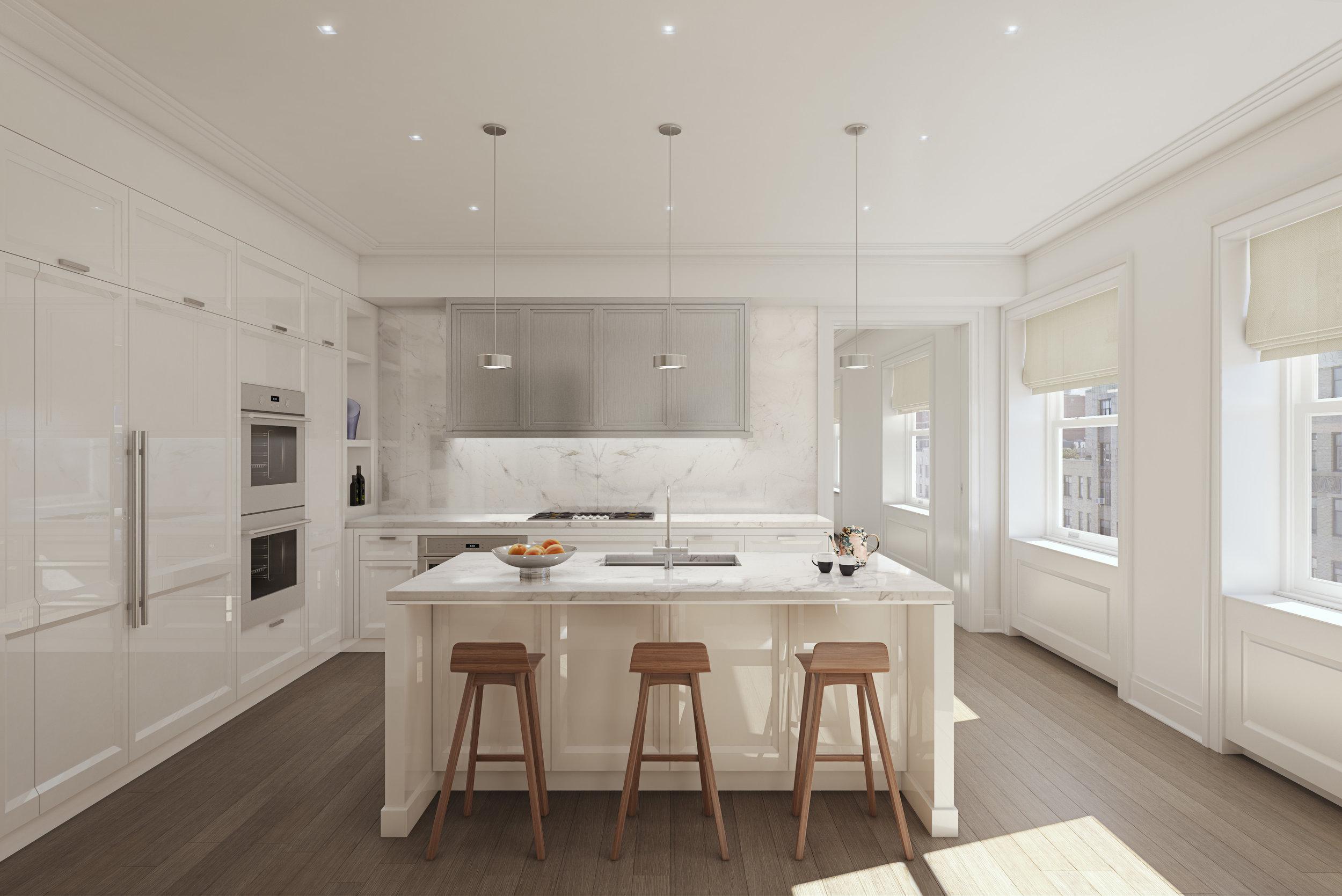 DBOX_HFZ_The Belnord_Residence_Typical Kitchen A-Island.jpg