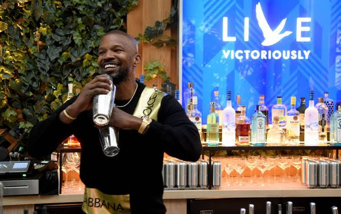 Jamie Foxx and Grey Goose take over The Times Square Edition bar to Launch Live Victoriously