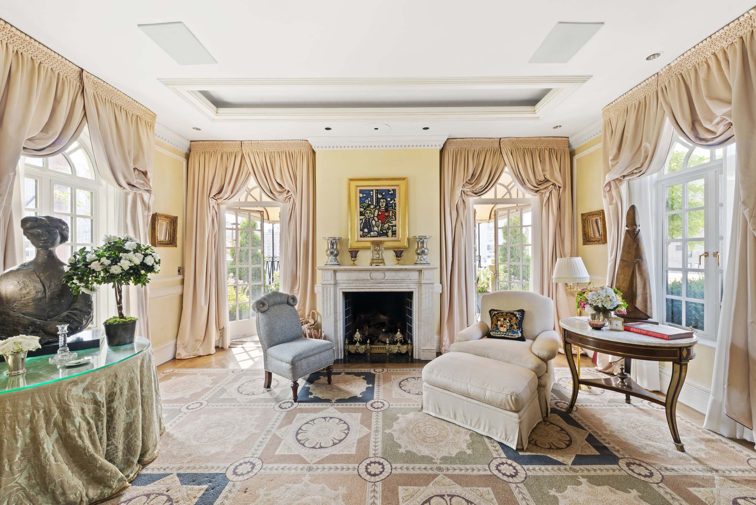 Dorothy Schiff Former Upper East Side Penthouse Hits The