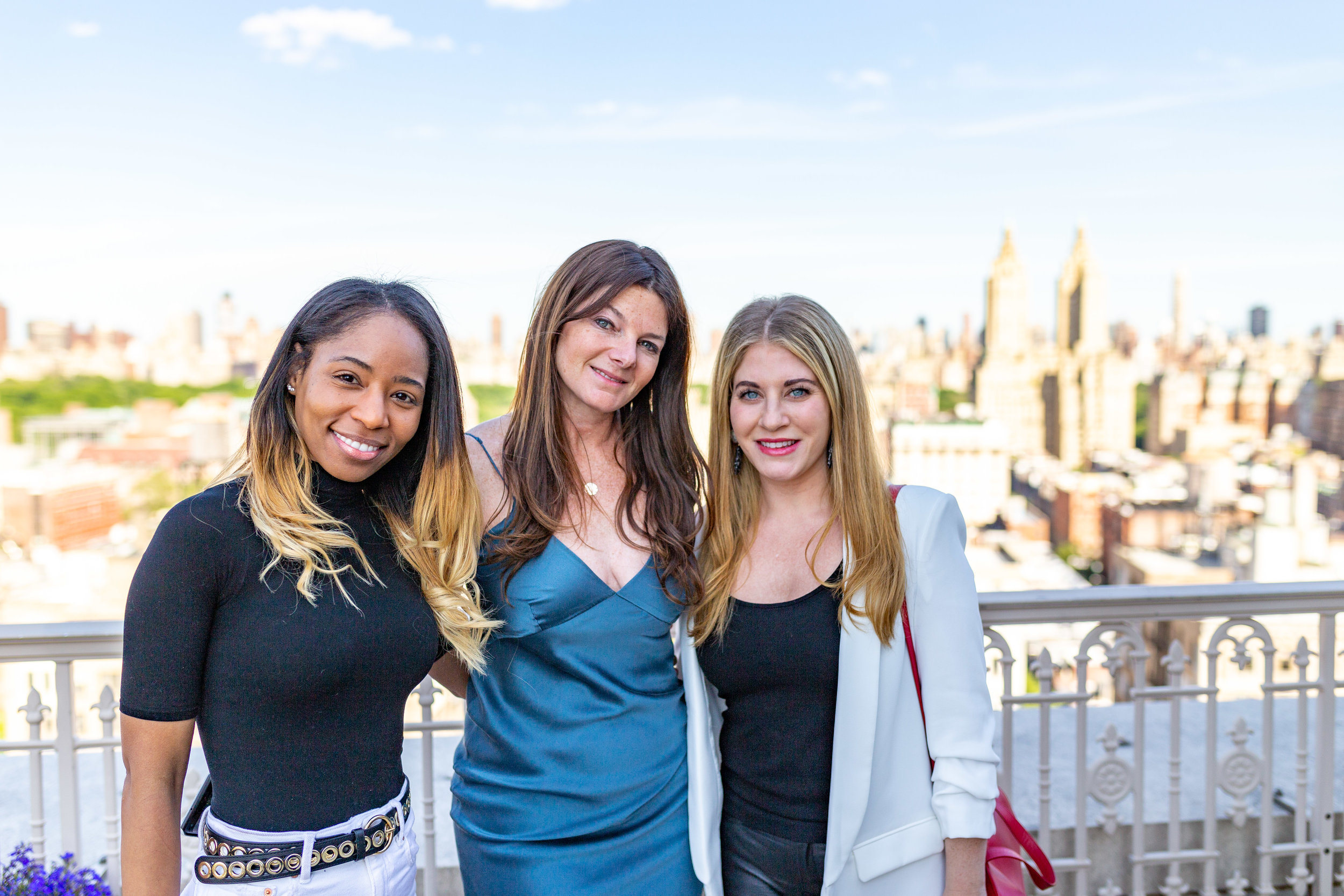 Shalaiwah Alveranga, Marketing and Sales Manager, Elad Group; Jennifer Kalish, Agent, Douglas Elliman; and, Samantha Sax, Chief Marketing and Design Officer, Elad Group