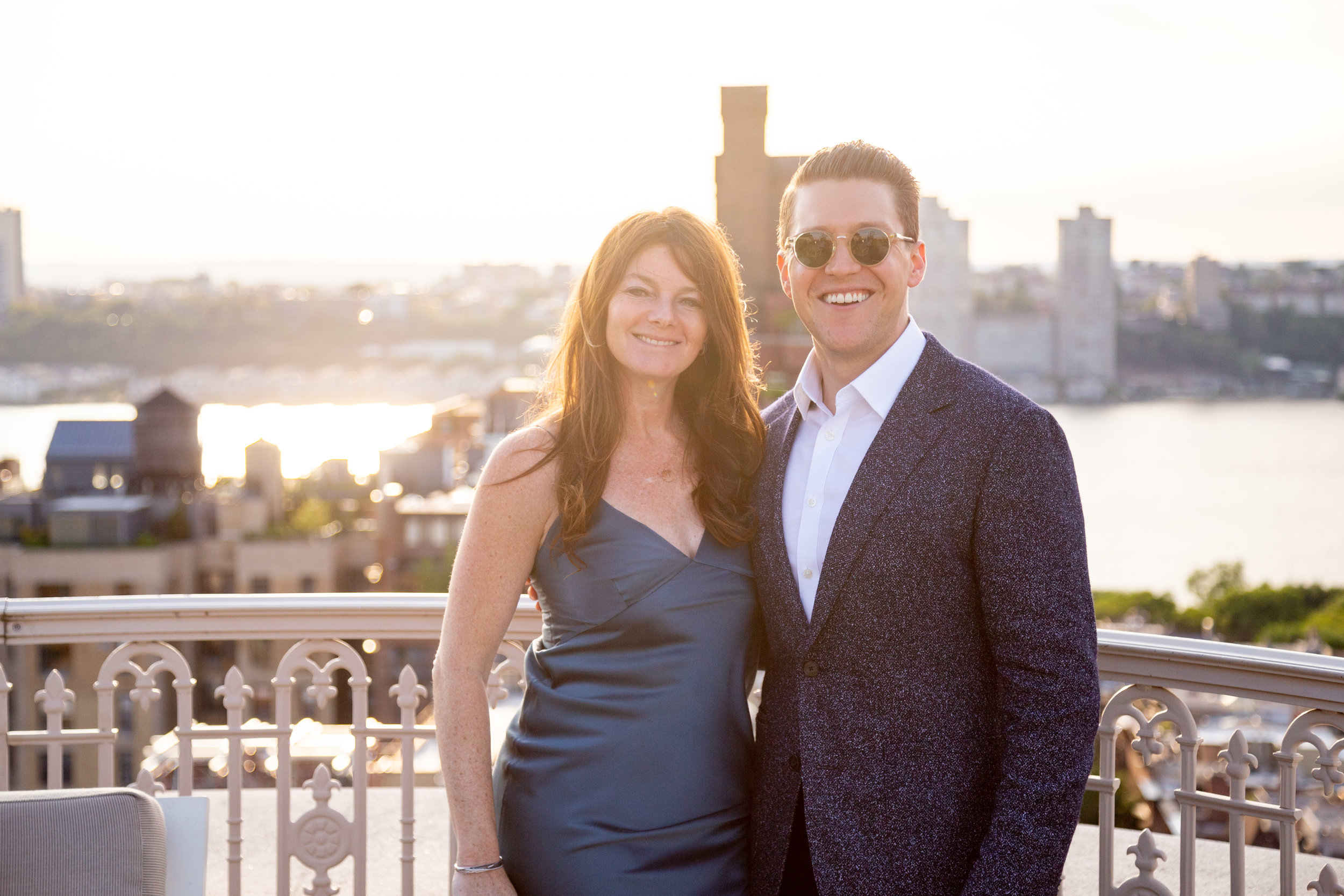 J ennifer Kalish and Kyle Egan of Douglas Elliman