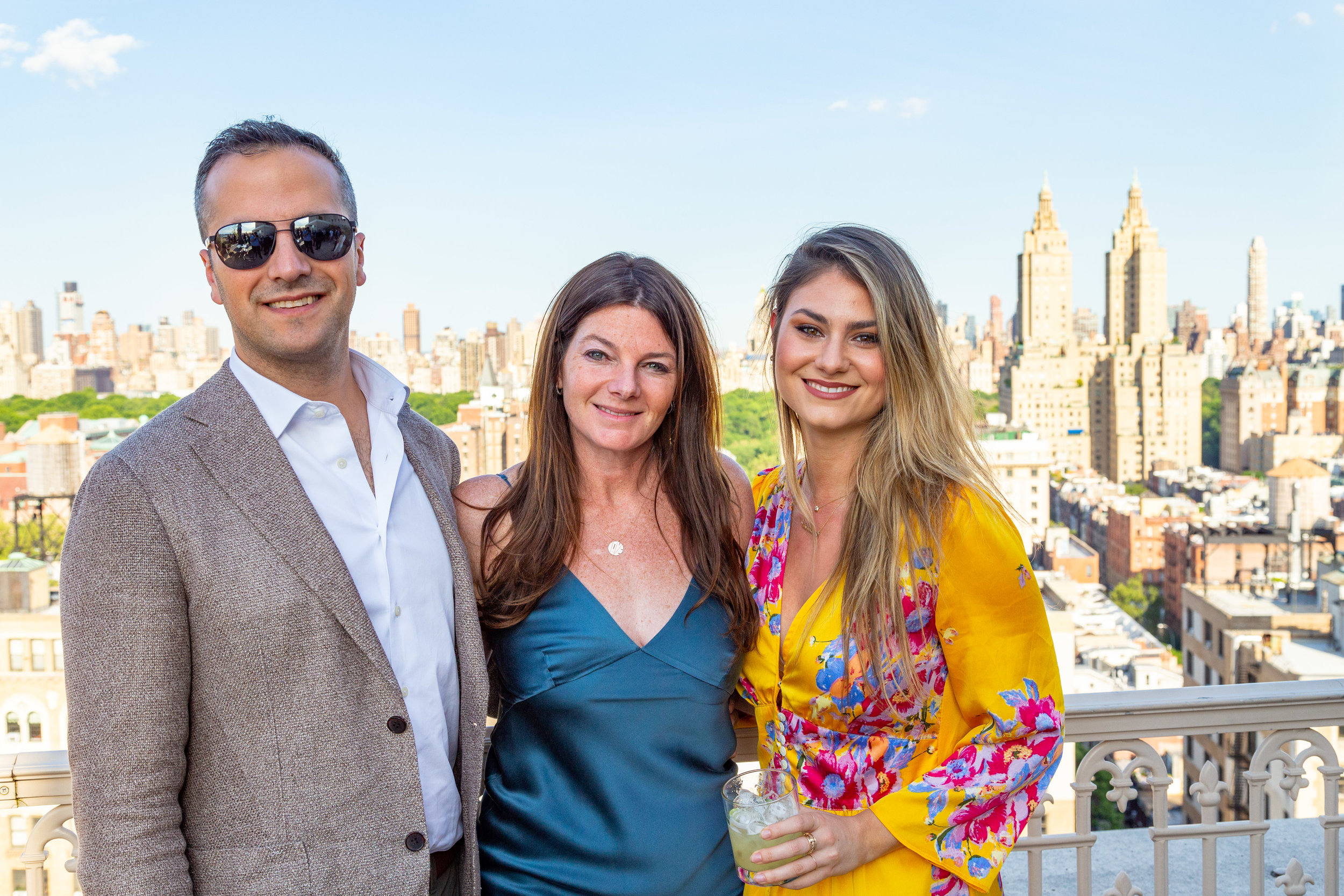 Jason Naggiar, Jennifer Kalish and Renee Micheli of Douglas Elliman