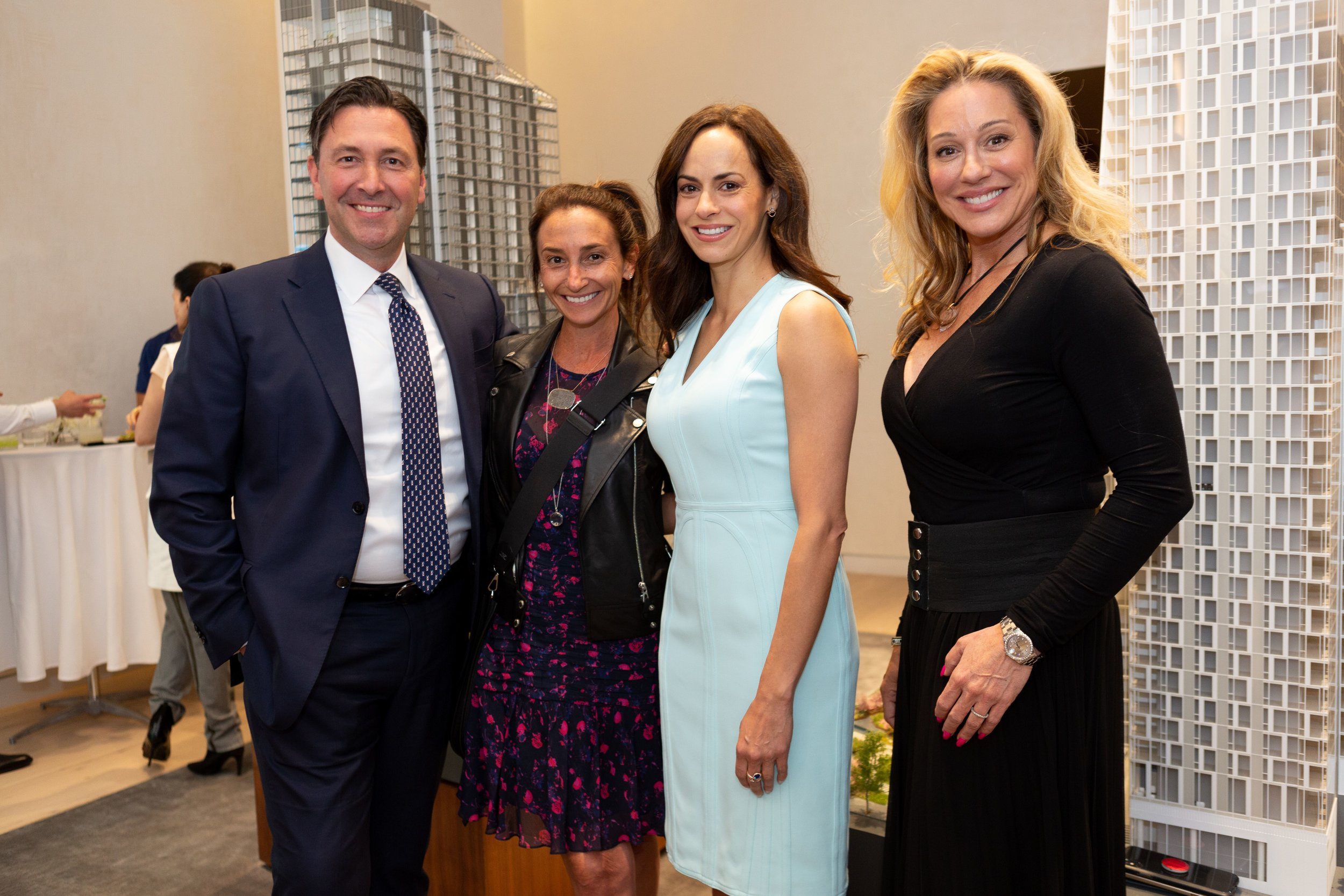 Gordon Hoppe,Kelly Kennedy Mack, Melissa Ziweslin, Norma-Jean Callahan. Photo credit : Jill Lotenberg