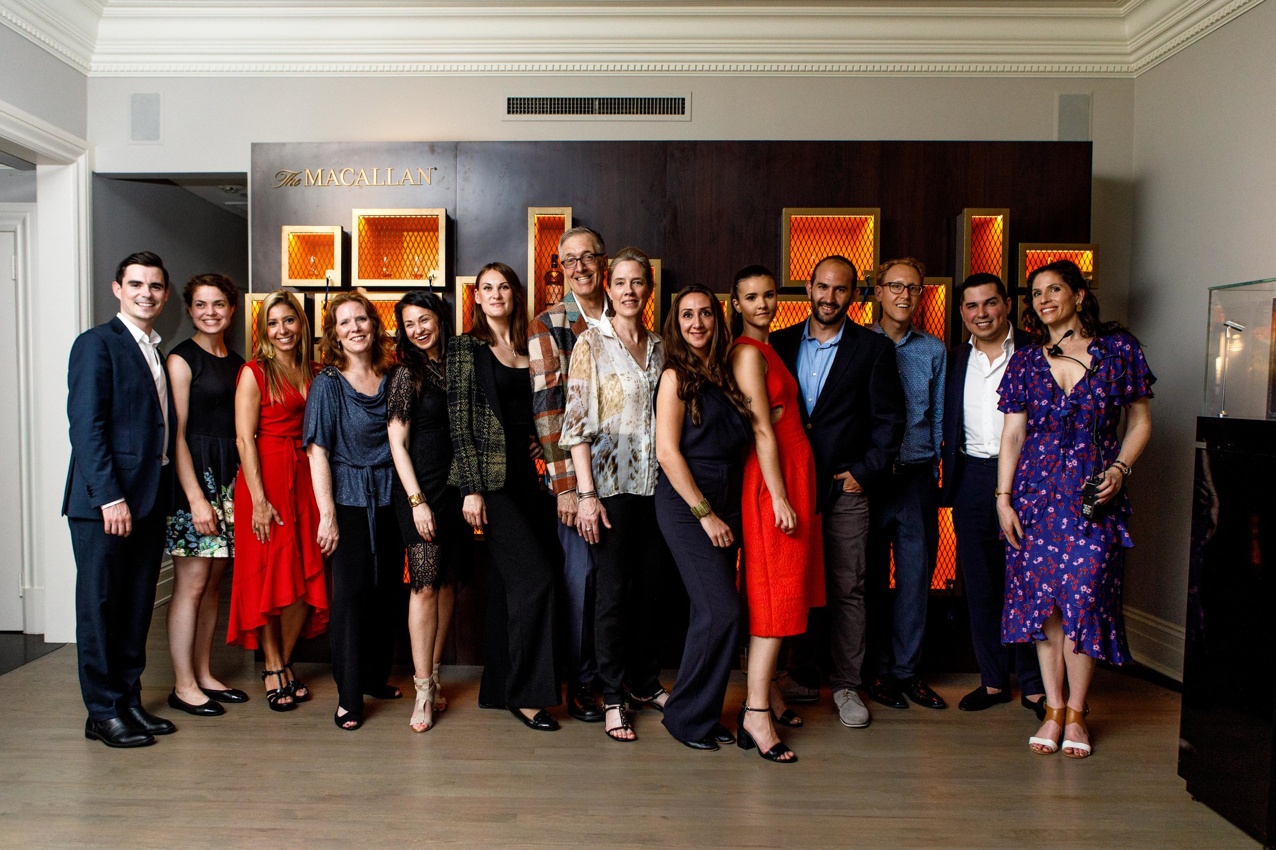 The Macallan Team and Vandenberg, The Townhouse Experts at Douglas Elliman.JPG