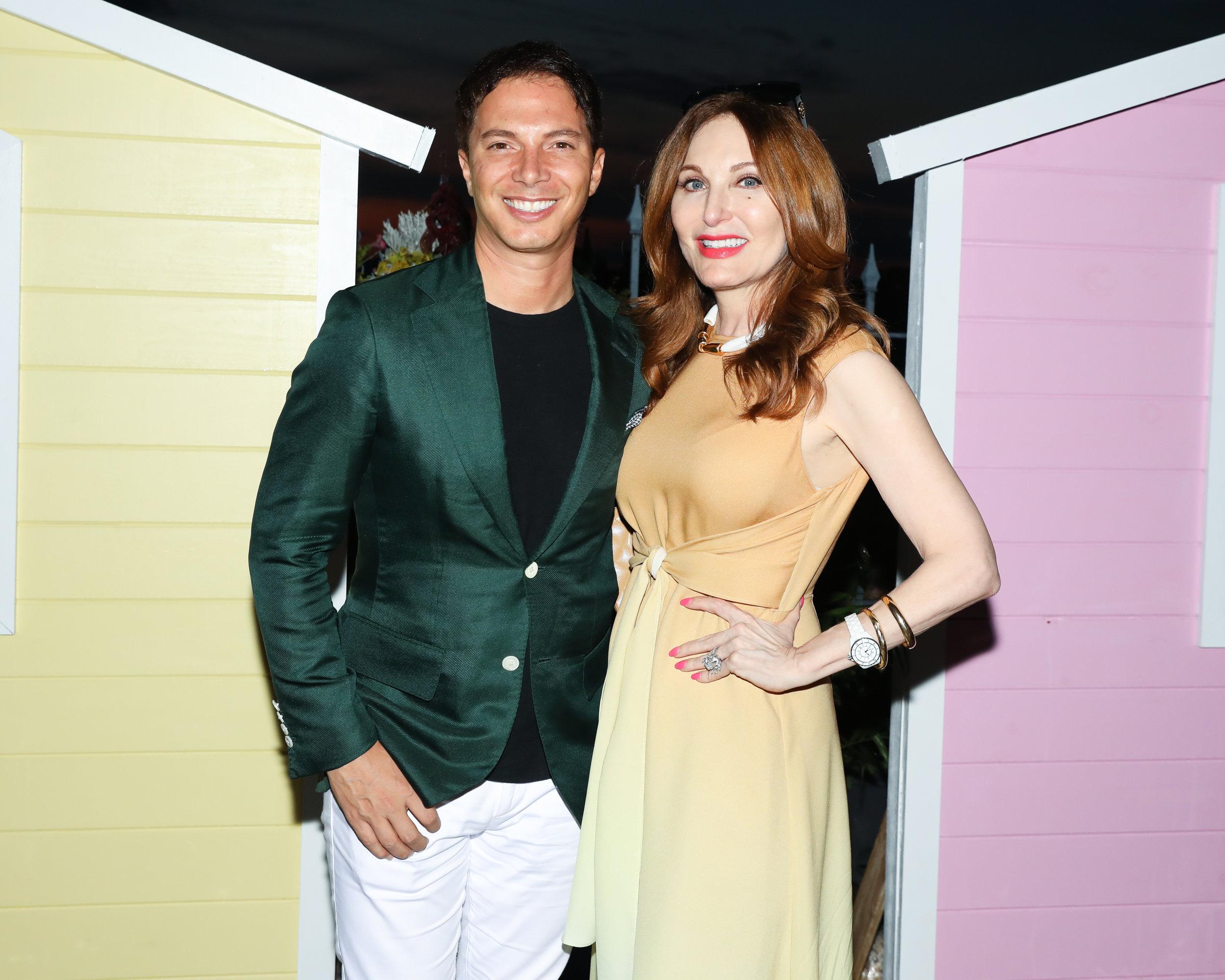 Nick D'Annunzio and Tara Solomon