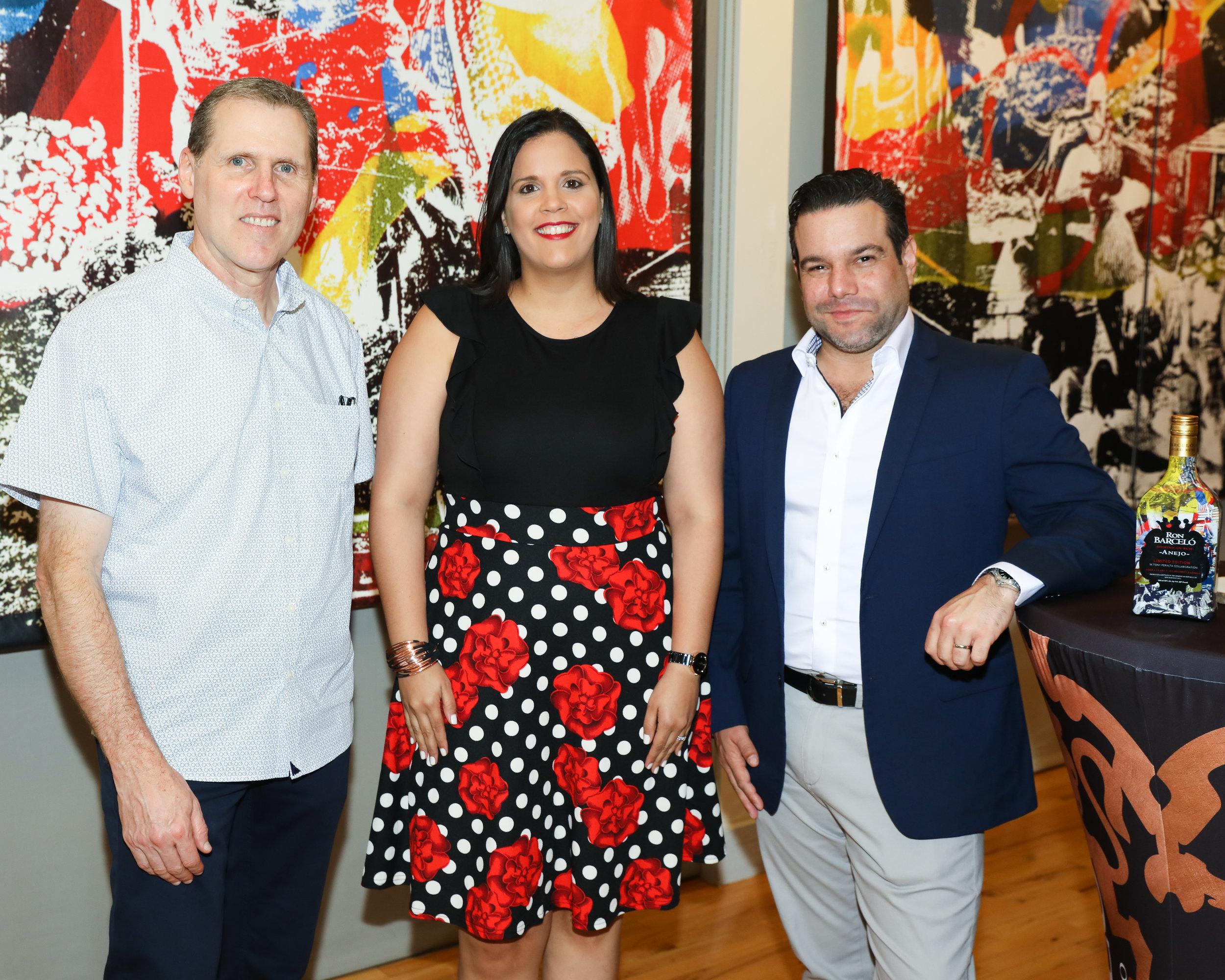Rod Simmons, Rosa Peña, Miguel Diaz