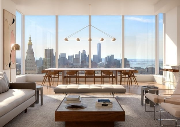 Madison House, the residential tower in NoMad today launched sales for the public. With architecture by Handel Architects and interiors by Gachot Studios, Madison House is a striking addition to the Manhattan skyline rising to 805 feet.