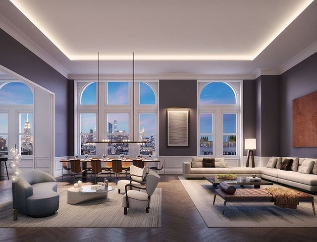 Will be checking out @108_leonard new model residences designed by @nealbeckstedt for @elledecor watch our stories for all the latest features.  #nycrealestate #interiordesign #offthemrkt