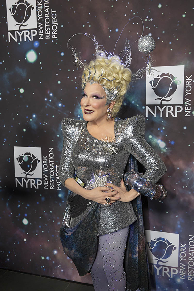 NYRP Founder Bette Midler at Hulaween 2018. Photo by © Mia McDonald