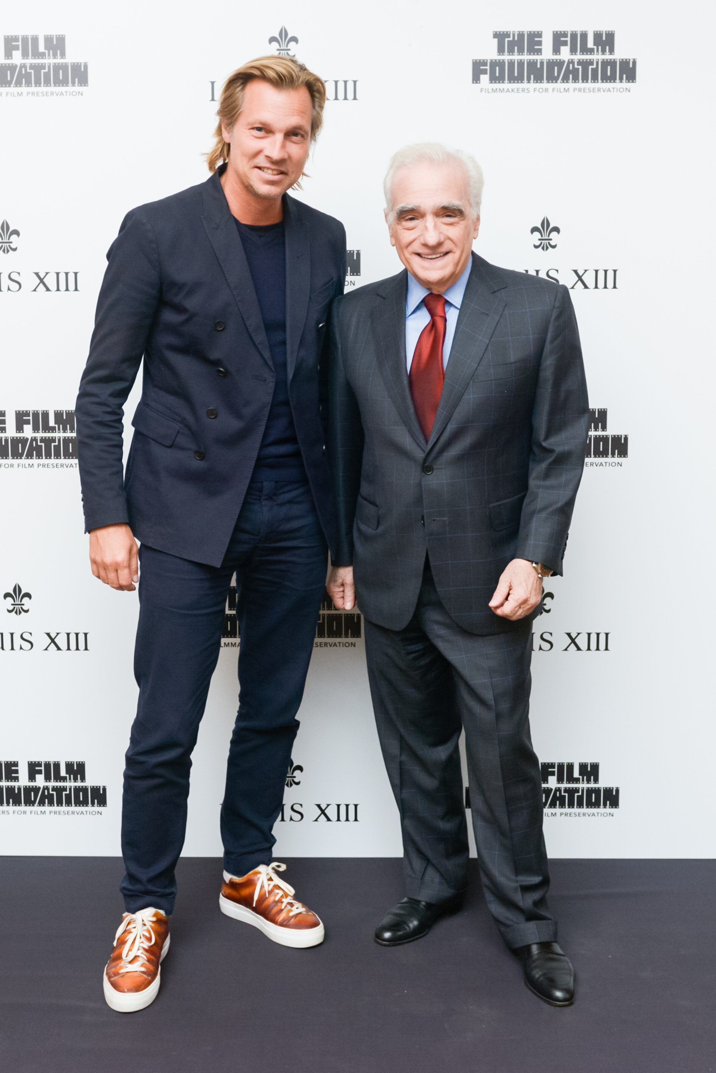 Ludovic du Plessis and Martin Scorsese courtesy of BFA