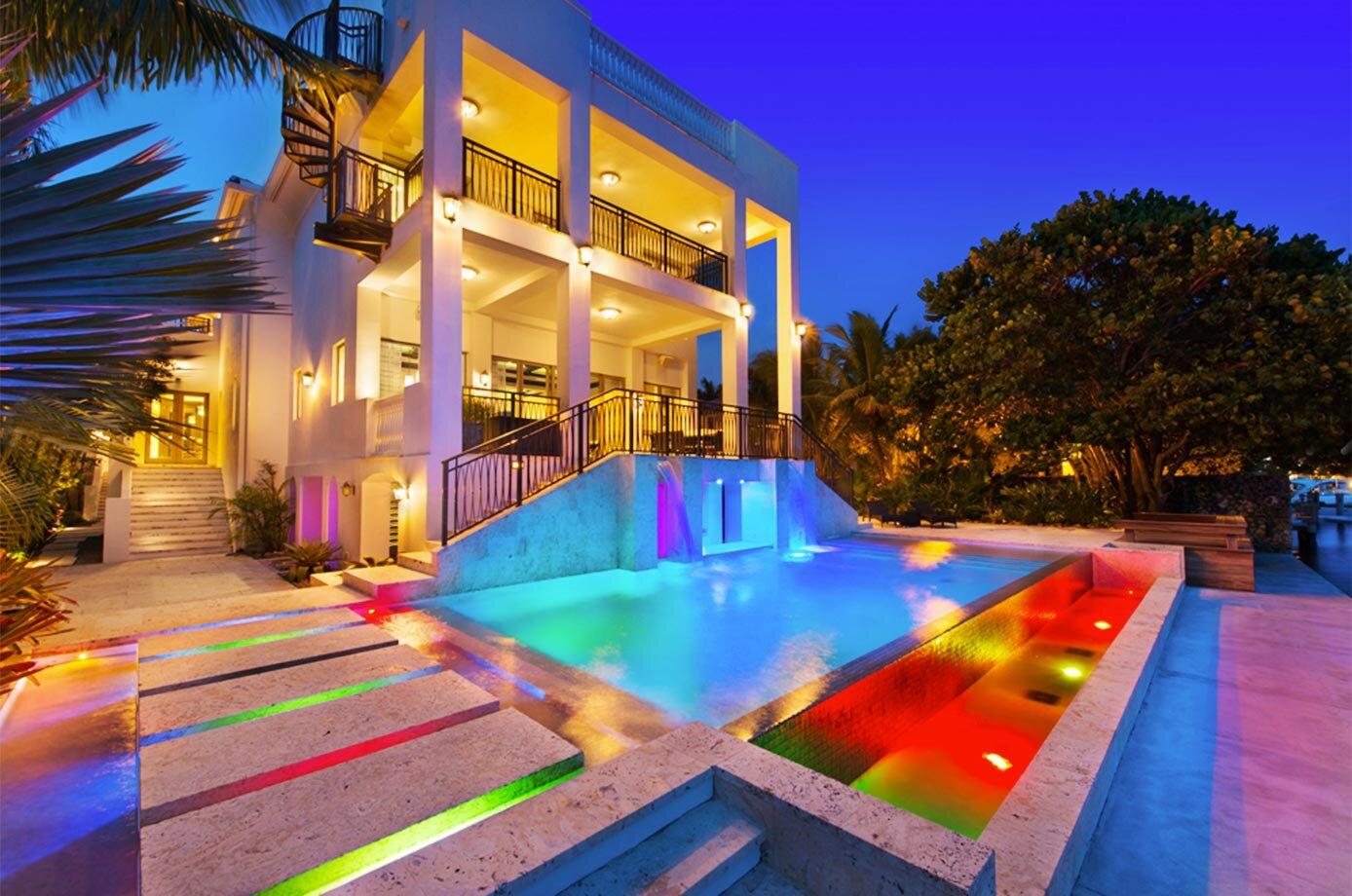 Chris Bosh's 11,709-square-foot home at 6396 N. Bay Rd., Miami Beach.