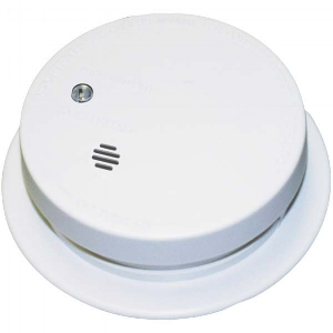 Smoke alarms, also called smoke detectors, are required by California State Law (Health and Safety Code) in all homes and apartment units. Most older alarms are battery powered. Some alarms are powered by house current, while the newest alarms get their electricity both from the building wiring and a backup battery.