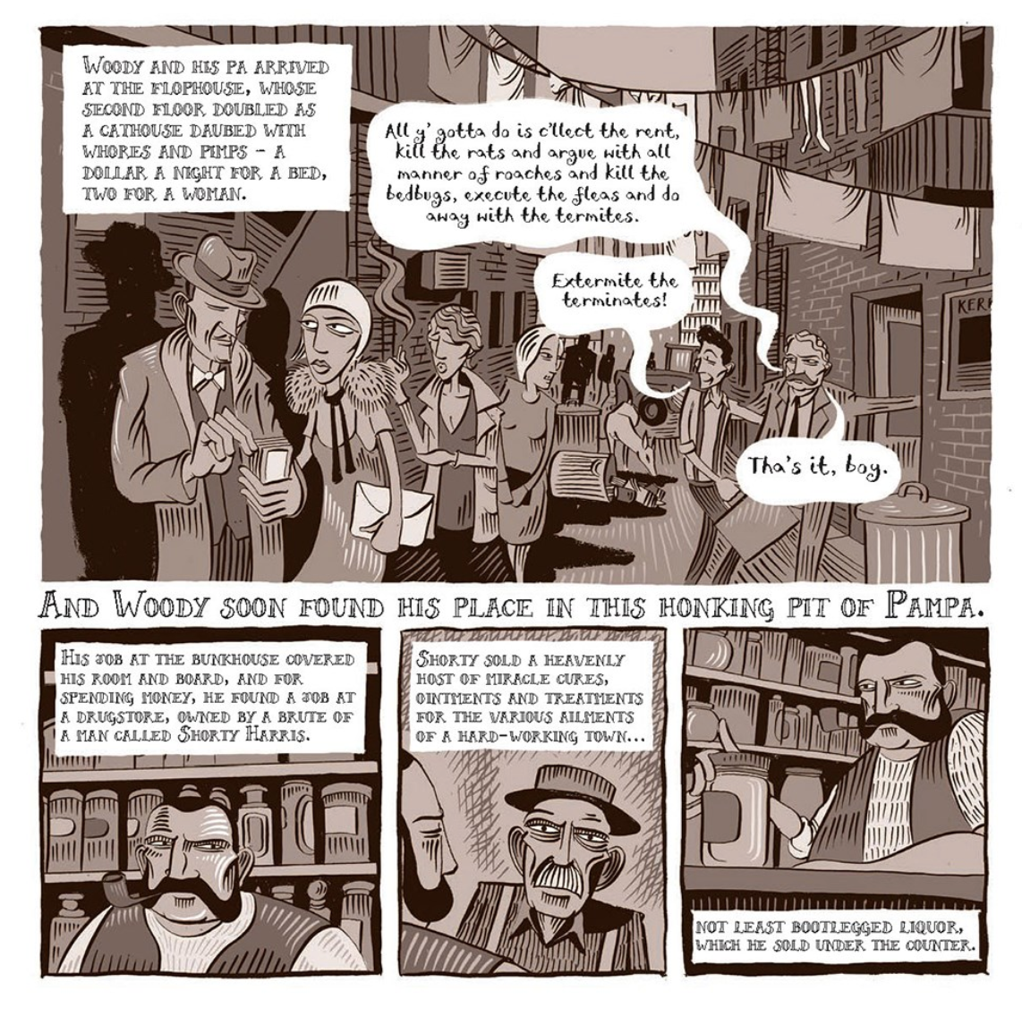 Music Graphic Novel Book Club: Woody Guthrie & the Dust Bowl