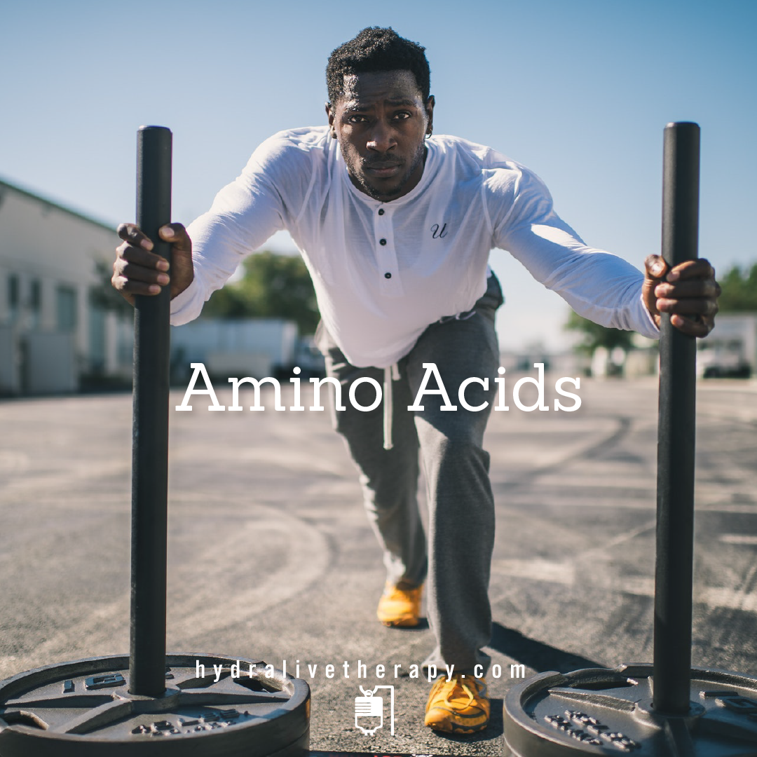 Amino Acids - $30  Athletic Recovery/Protein Booster    Learn More