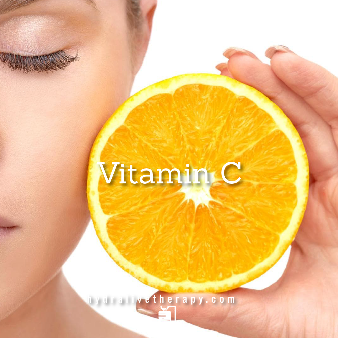 Vitamin C  -  $30  Immune Booster/Illness Recovery  Vitamin C is required for the proper development and function of many parts of the body. It also plays an important role in maintaining proper immune function.    Learn More