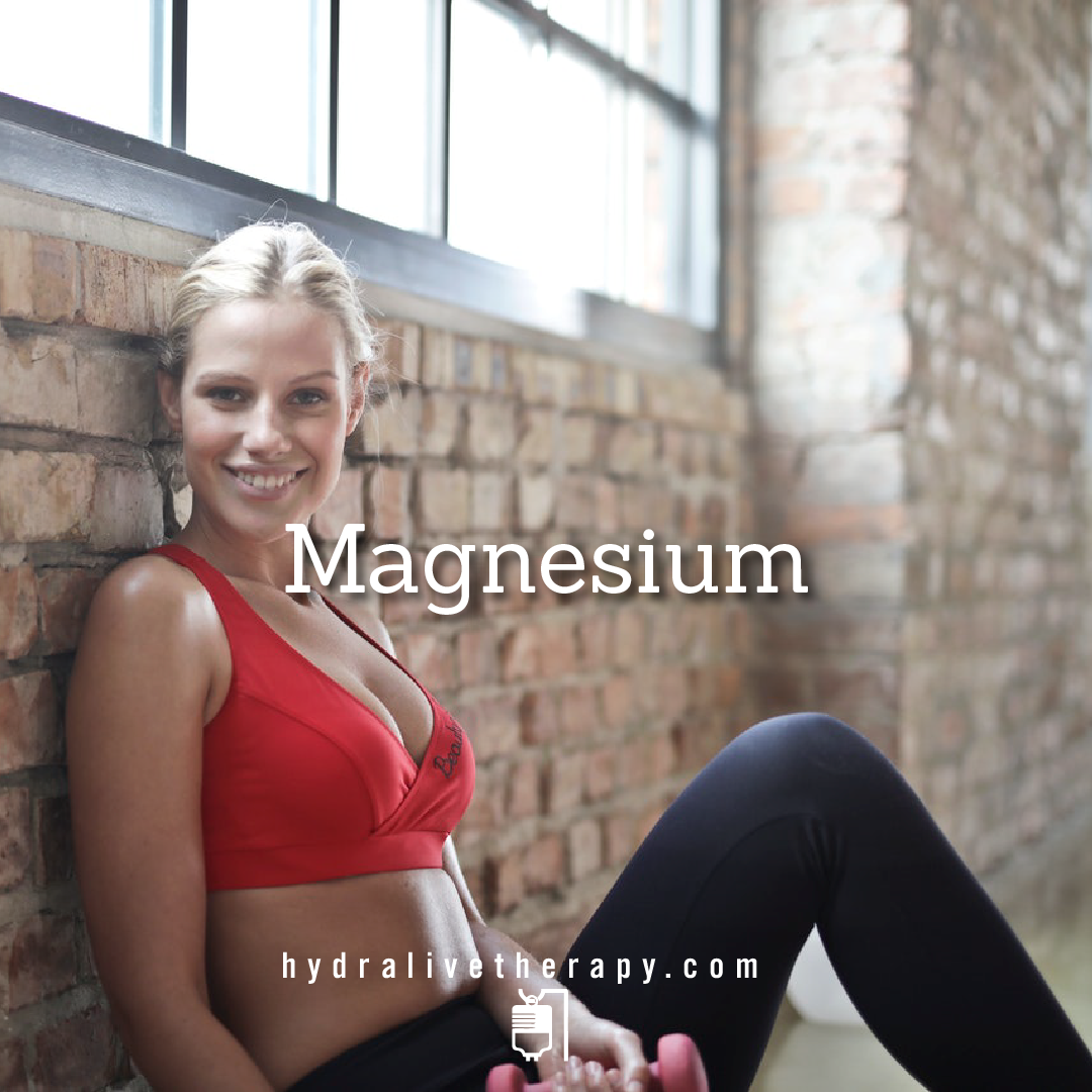 Magnesium - $30  Magnesium is a mineral that's crucial to the body's function. Magnesium helps keep blood pressure normal, bones strong, and the heart rhythm steady.    Learn More