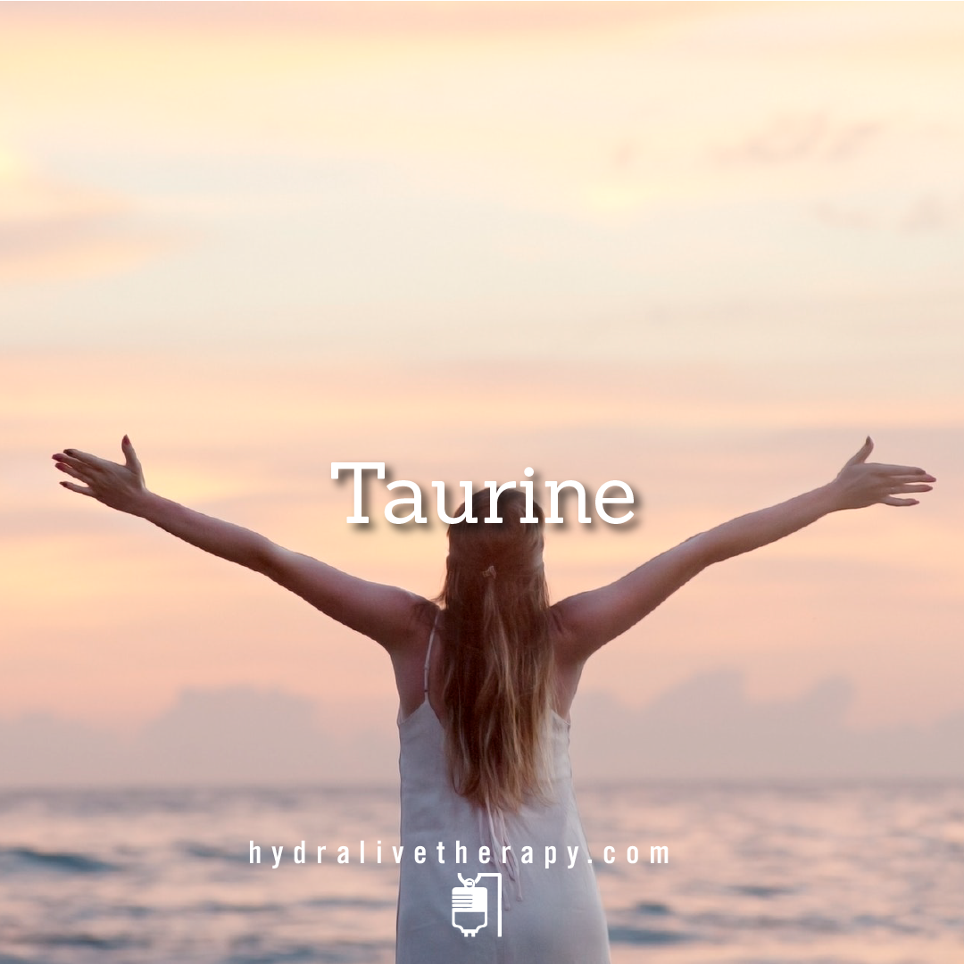 Taurine - $30   Taurine is an amino sulfonic acid, but it is often referred to as an amino acid, a chemical that is a required building block of protein.    Learn More
