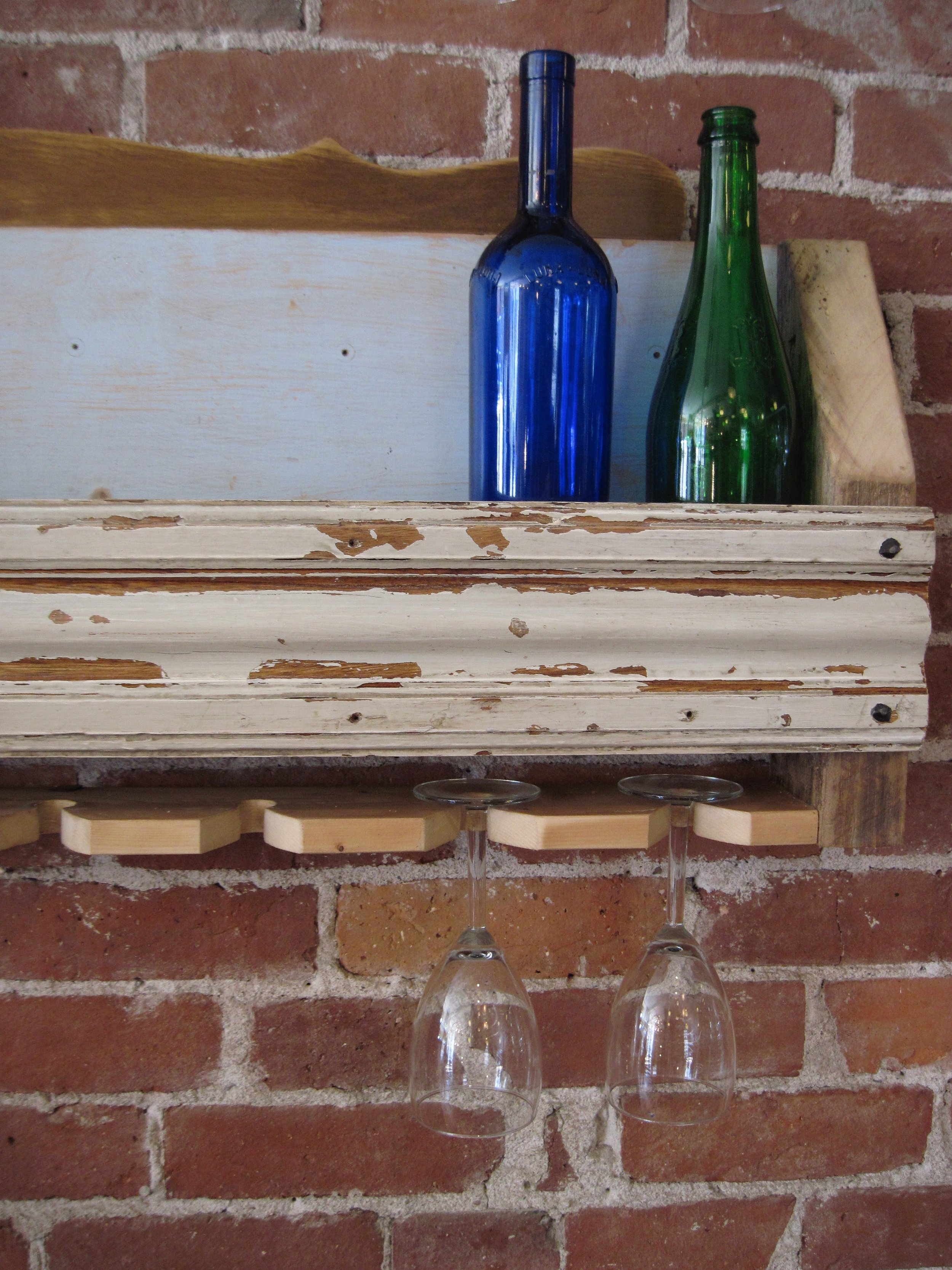 Wall Mounted Wine Storage