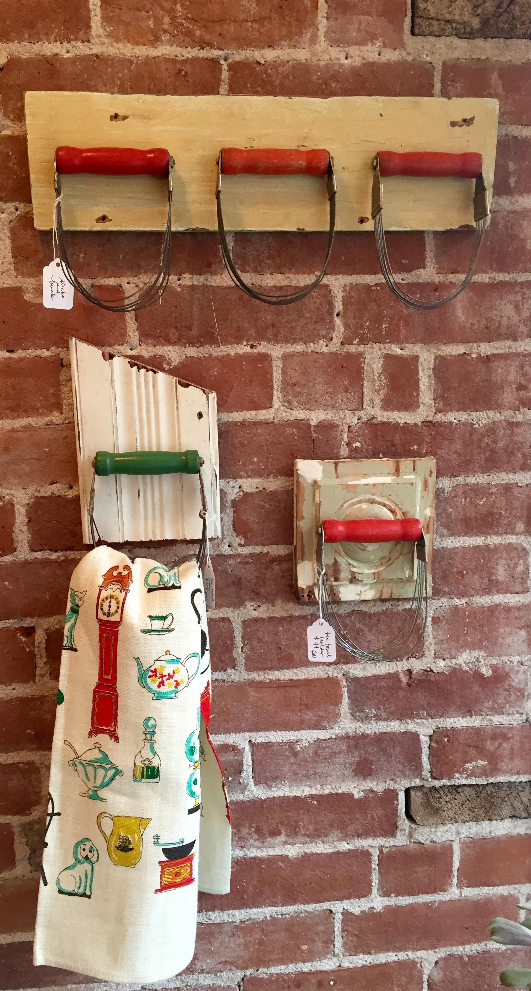 Pastry Cutter Tea Towel Holders
