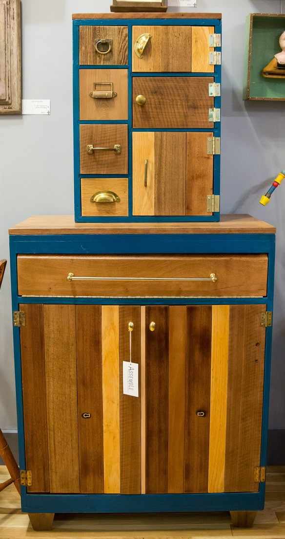 Furniture Monster: Turquoise + Wood