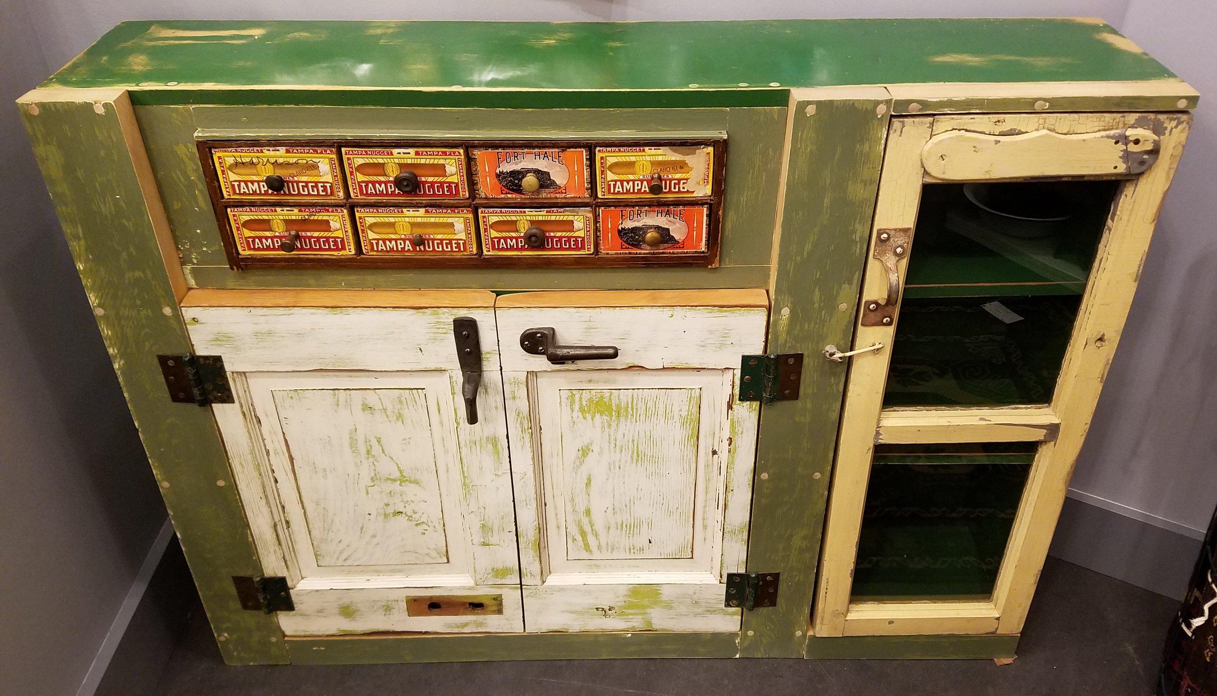 Furniture Monster #14- Green Monster Bookshelf