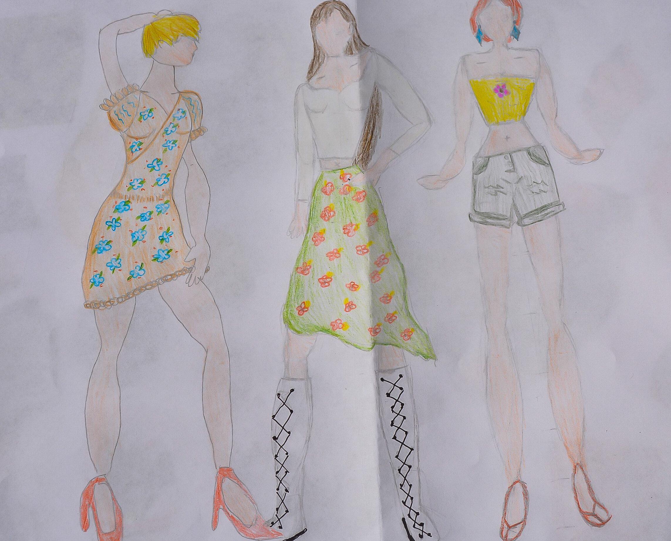 Designx Fashion Illustration Prototyping For Kids
