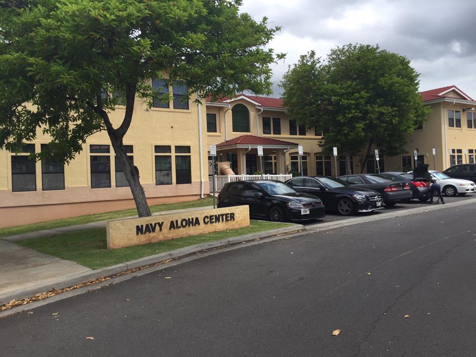 Navy housing office in Pearl Harbor