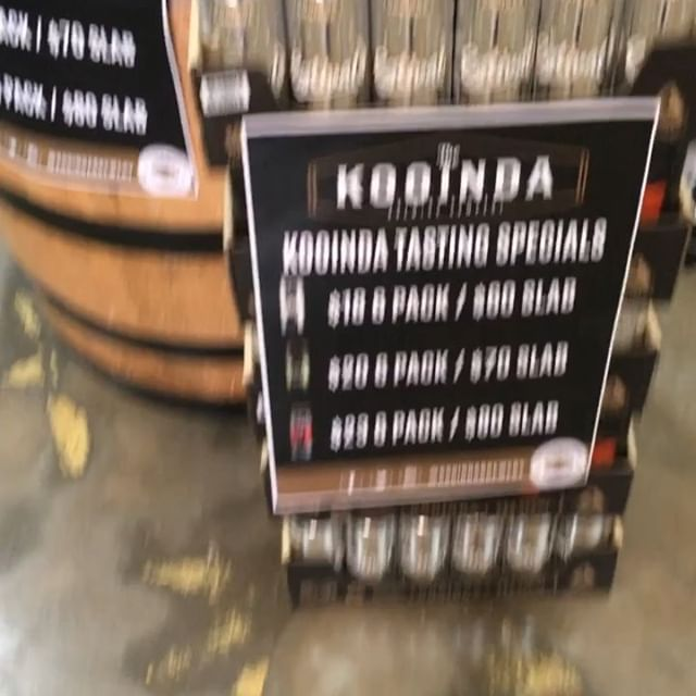 Free Kooinda tasting this evening @Macleod Cellars Aberdeen rd. 4-6.30 pm. Lots of giveaways and prizes to be won including Kooinda glassware and 2x $50 venue vouches... come along and join the fun ! 🍻🎄👍😎🍺
