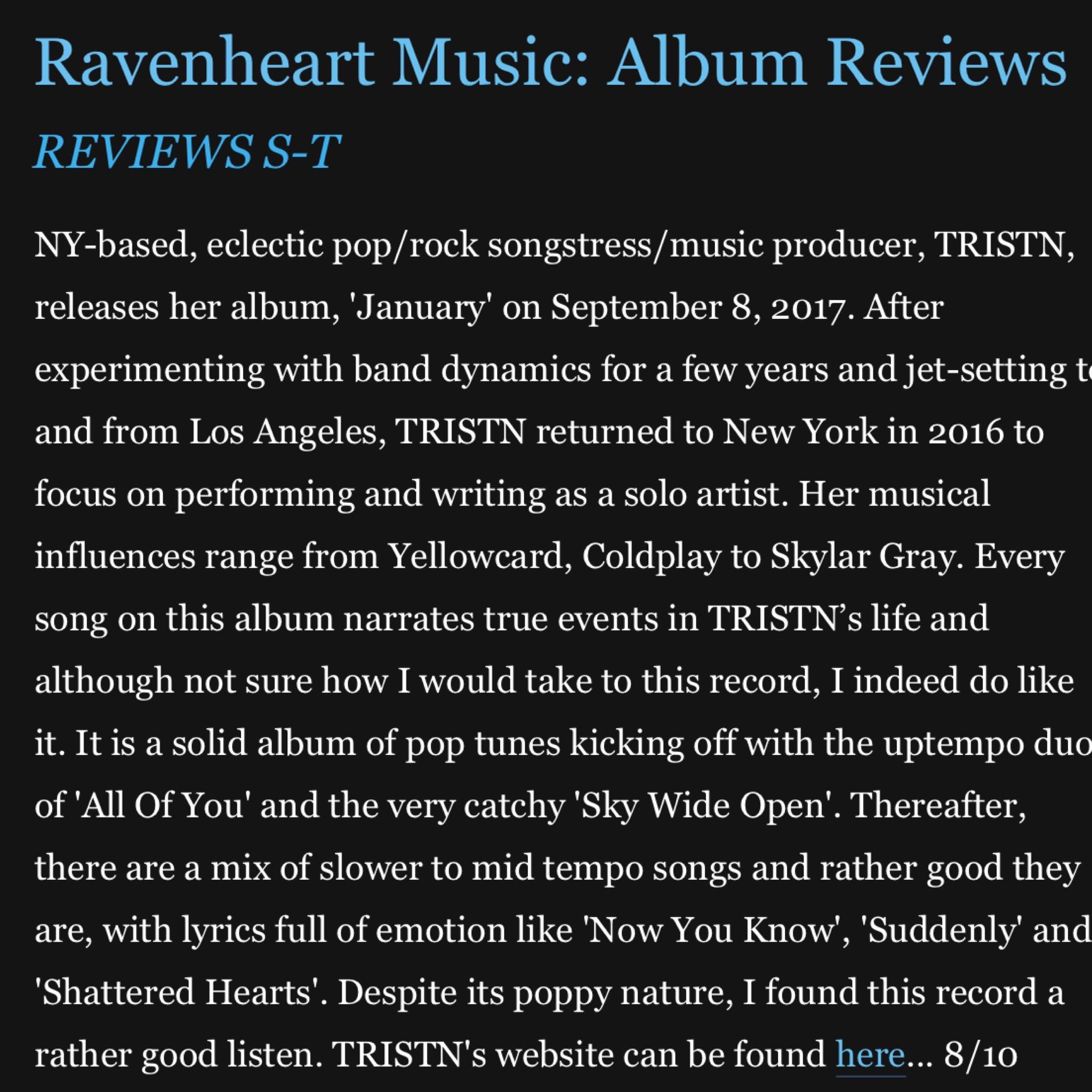 RAVENHEART MUSIC -