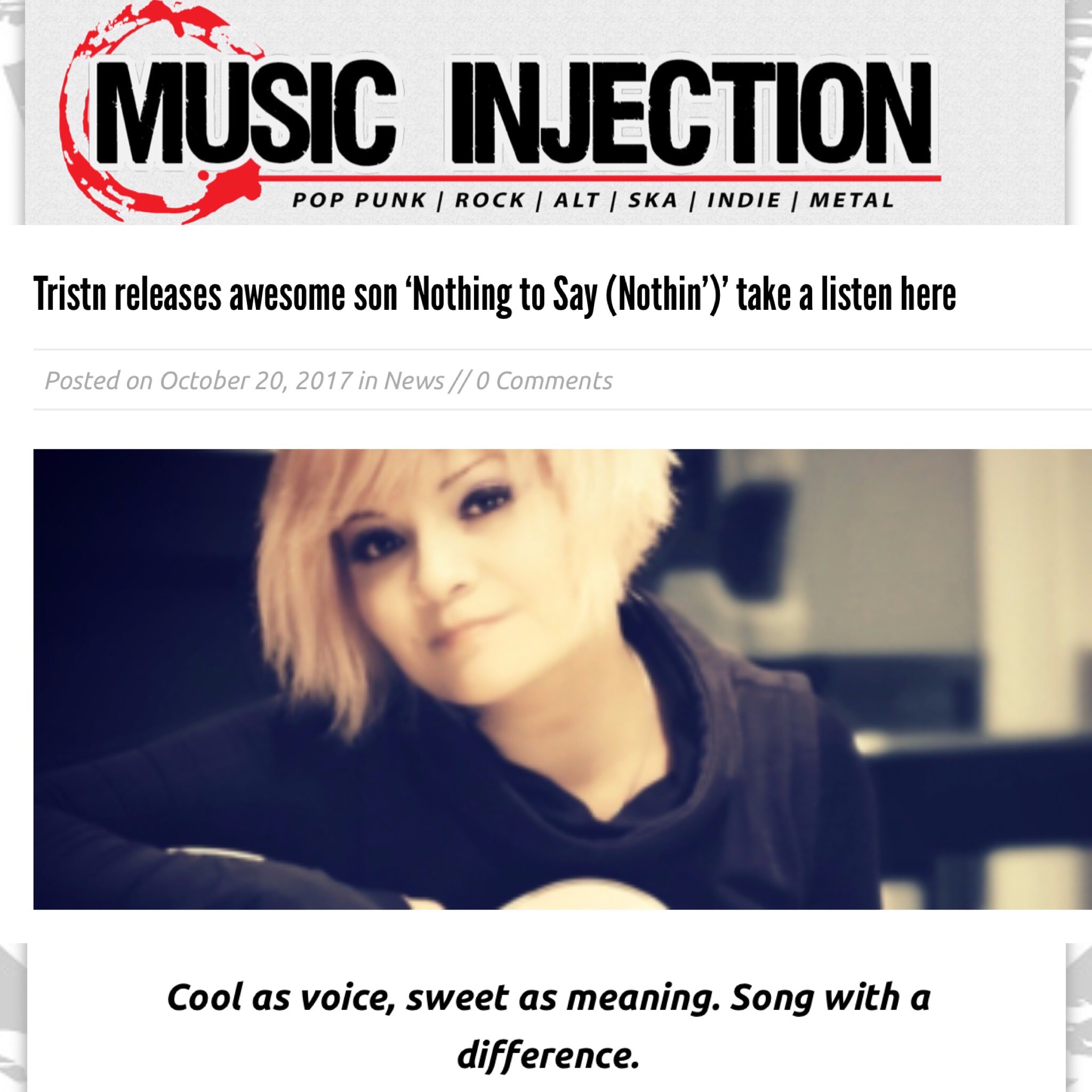 MUSIC INJECTION -
