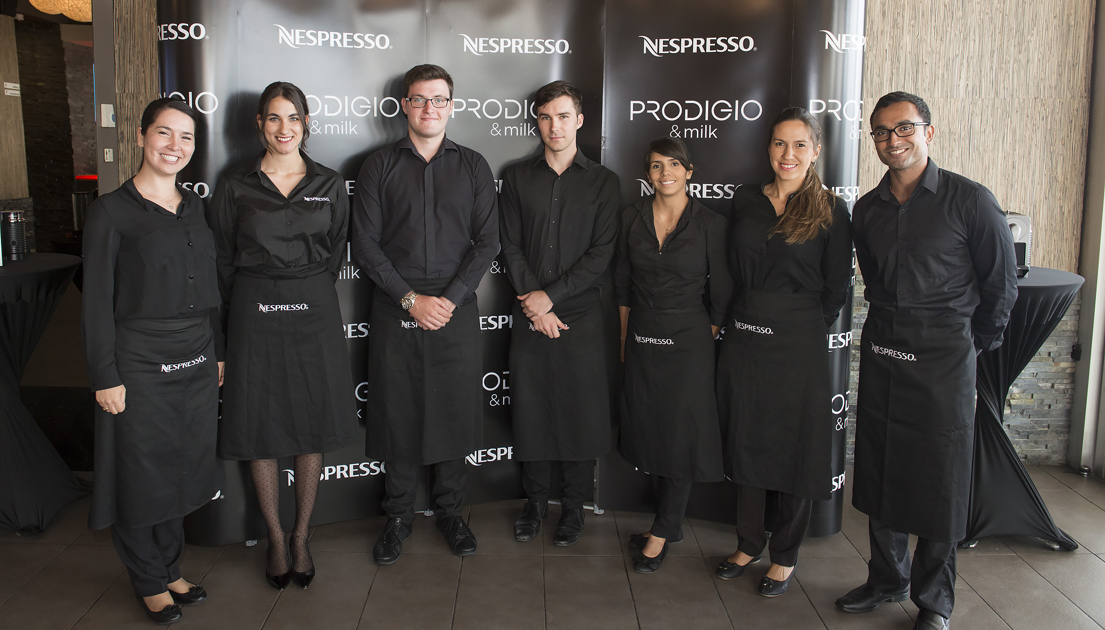 nespresso mesh team