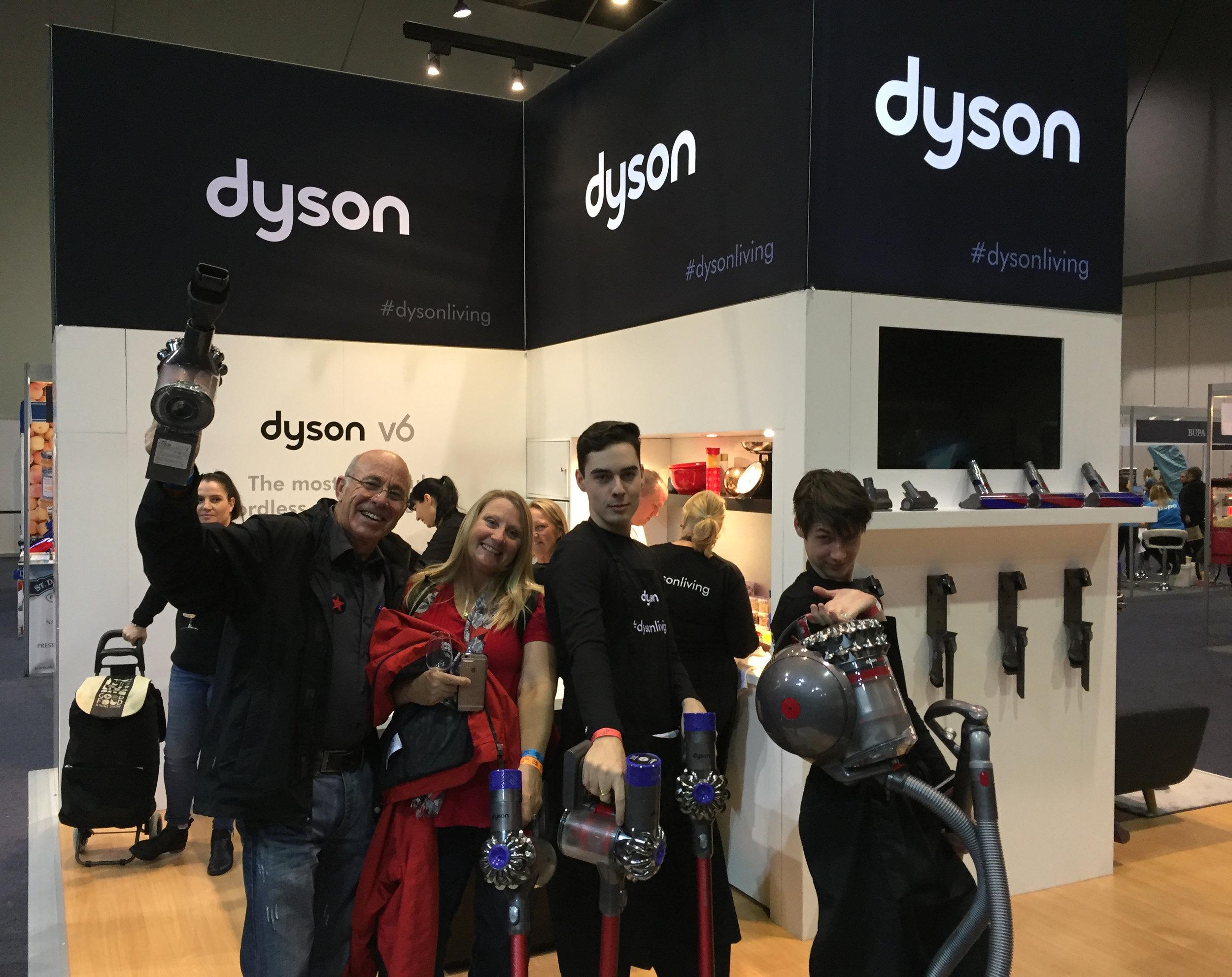 mesh marketing dyson team