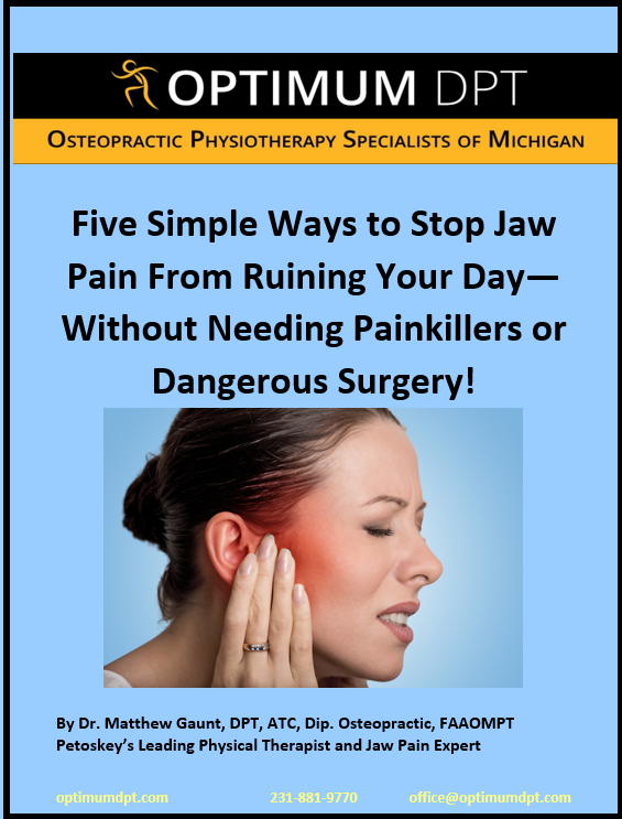 Jaw Pain Tmj Optimum Dpt Osteopractic Physical Therapy