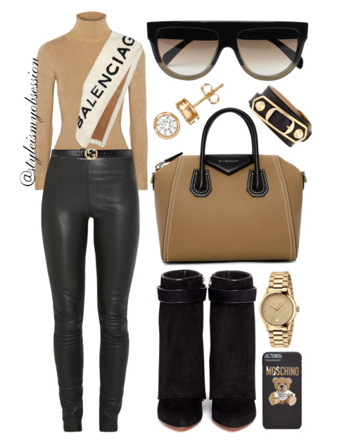 Style Inspiration Fall Mood Joss Tricot Sweater By Malene Birger Leather Leggings Givenchy Shark Wedge Boots Givenchy Antigona Bag Balenciaga Fur Stole.PNG