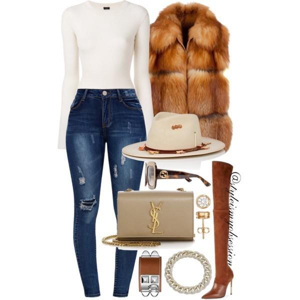 Style Inspiration Give Thanks Balmain Amazone Boots Saint Laurent Kate Shoulder Bag Nick Fouquet Mount Helio Fedora Hat Gucci Sunglasses.jpg