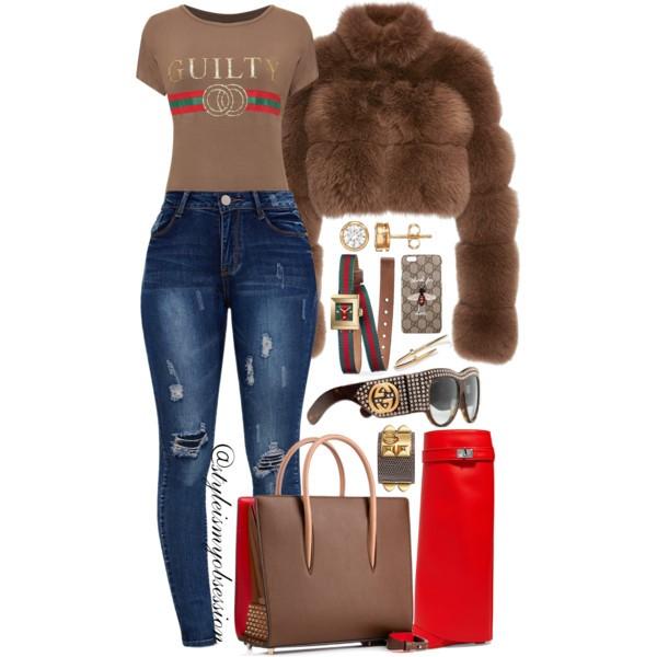 Style Inspiration Feeling Guilty Jonathan Simkhai Fox Fur Crop Jacket Christian Louboutin Paloma Tote Bag Givenchy Shark Lock Boot.jpg