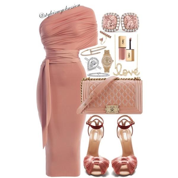 Style Inspiration What To Wear For Valentine's Day JLux Label Midi Wrap Dress Aquazzura Lotus Tassel Embellished Sandal Chanel Boy Bag Sydney Evan Love Necklace.jpg