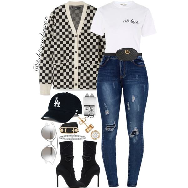 Style Inspiration Race Track Amiri Checked Cardigan Yeezy Lace Up Boots Gucci Leather Belt Bag Dior So Real Sunglasses.jpg