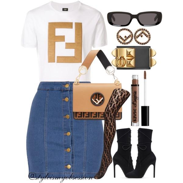 Style Inspiration Issa Vibe Fendi Logo Tshirt Fendi Kan I F Shoulder Bag Off-White Rectangle Sunglasses Fendi Logo Tights Yeezy Lace-Up Boots.jpg