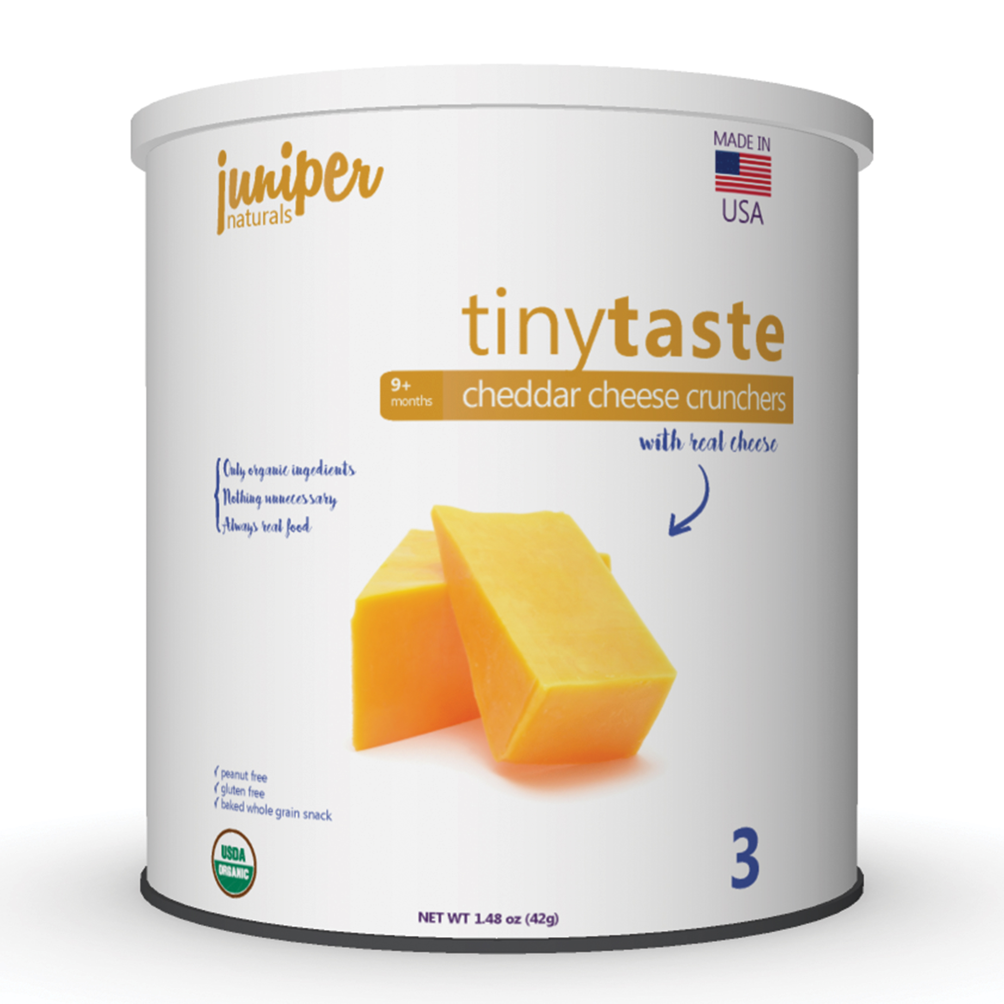 Juniper Naturals cheddar cheese crunchers