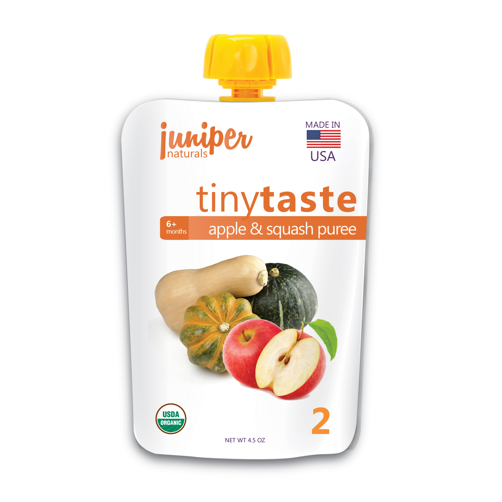 Juniper Naturals apple squash puree