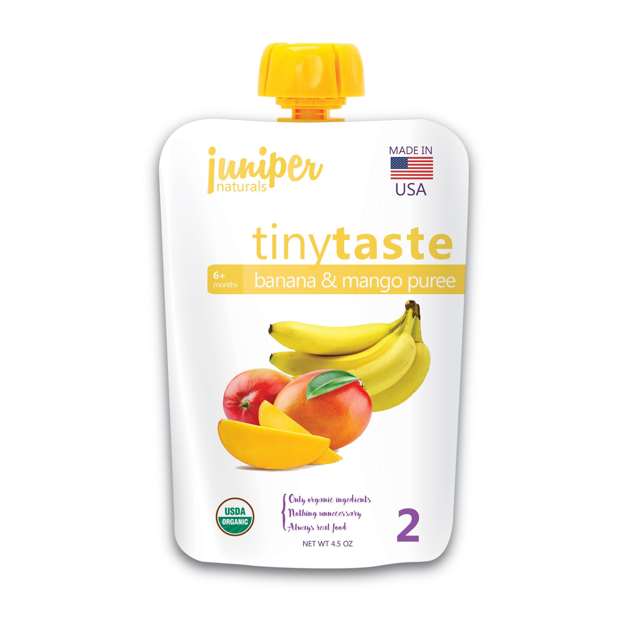 Juniper Naturals banana mango puree