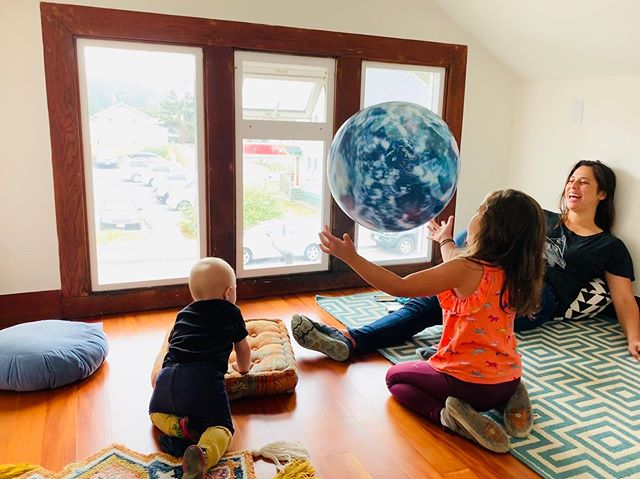 Little visitors in the office today! Exploring all the fun nooks in our new office space.  If you haven't checked out our new spot, stop by!  #teachthemyoung #motherearth #workplacewellness #arcata #humboldt #workandplay #motherearthengineering