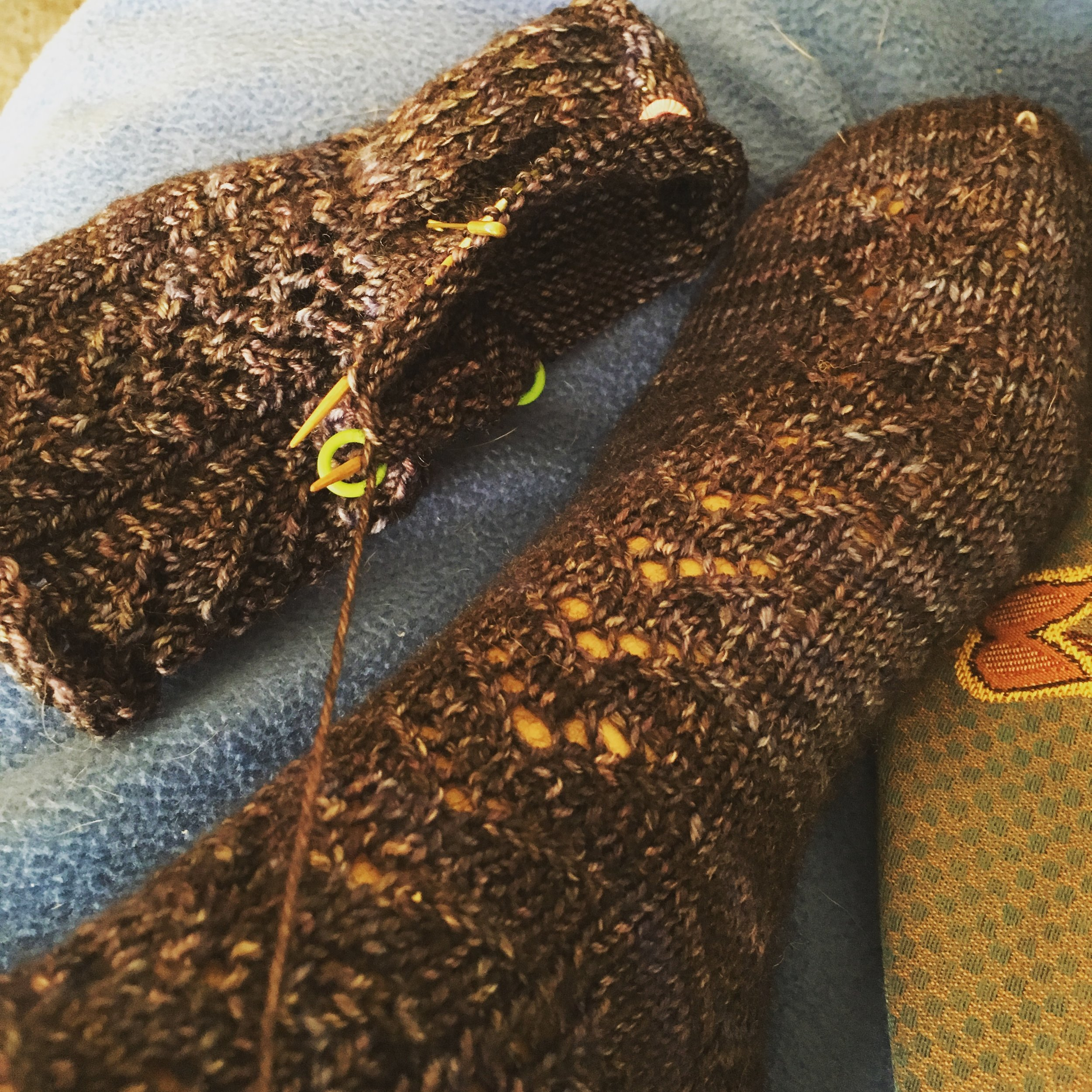 A recipe for creating and designing your very own socks!