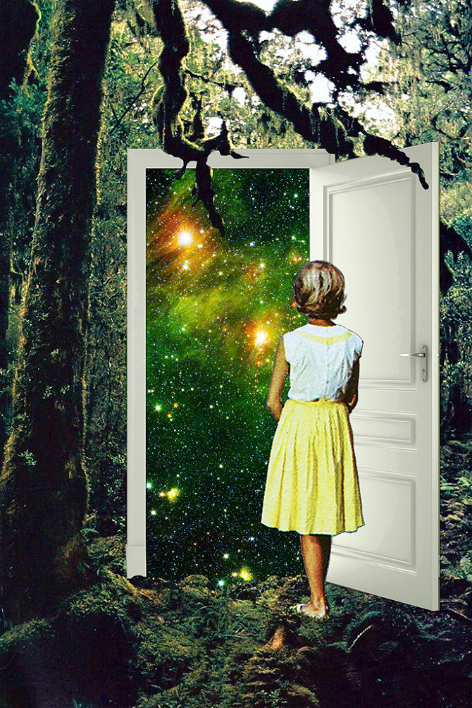 Portal in the Woods - Eugenia Loli
