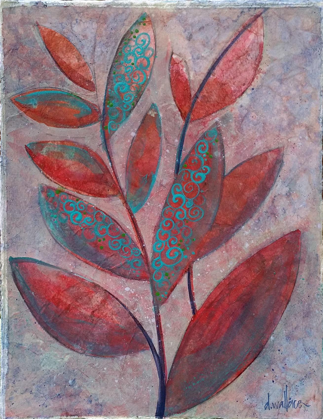 """Leaves of Color I"""
