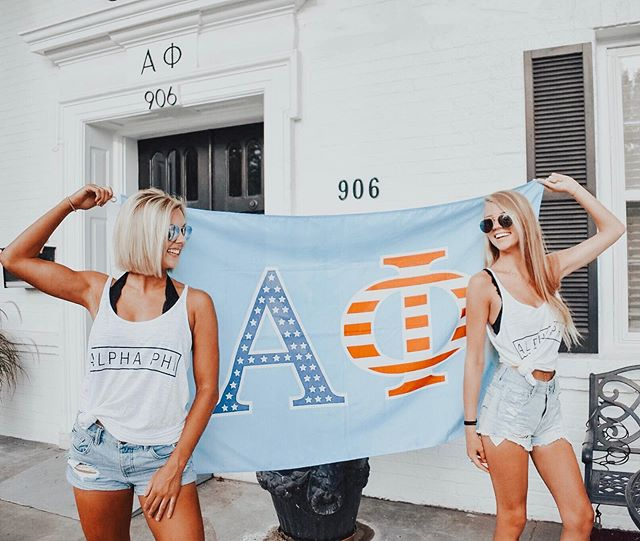 land of the PHI, home of the babes... 🇺🇸 wishing you a fun & safe holiday as we celebrate what makes our country so great. happy 4th of july, sisters! 🗽✨