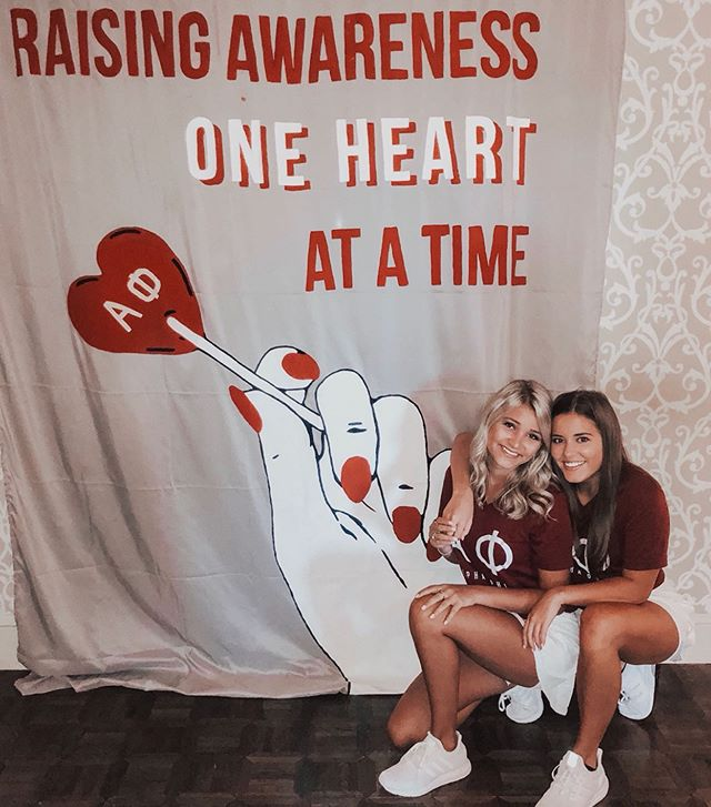 strong women need strong hearts, that's why the Alpha Phi Foundation is so committed in supporting Women's Heart Health. #AlphaPhilo ⋆ ⋆ Each year our chapter holds several philanthropy events that benefit our foundation, which include our Red Dress Gala, Poker Tournament, Alpha Phizza and Alpha Phifa soccer tournament! ❤️ what's your fav philo? ⇩