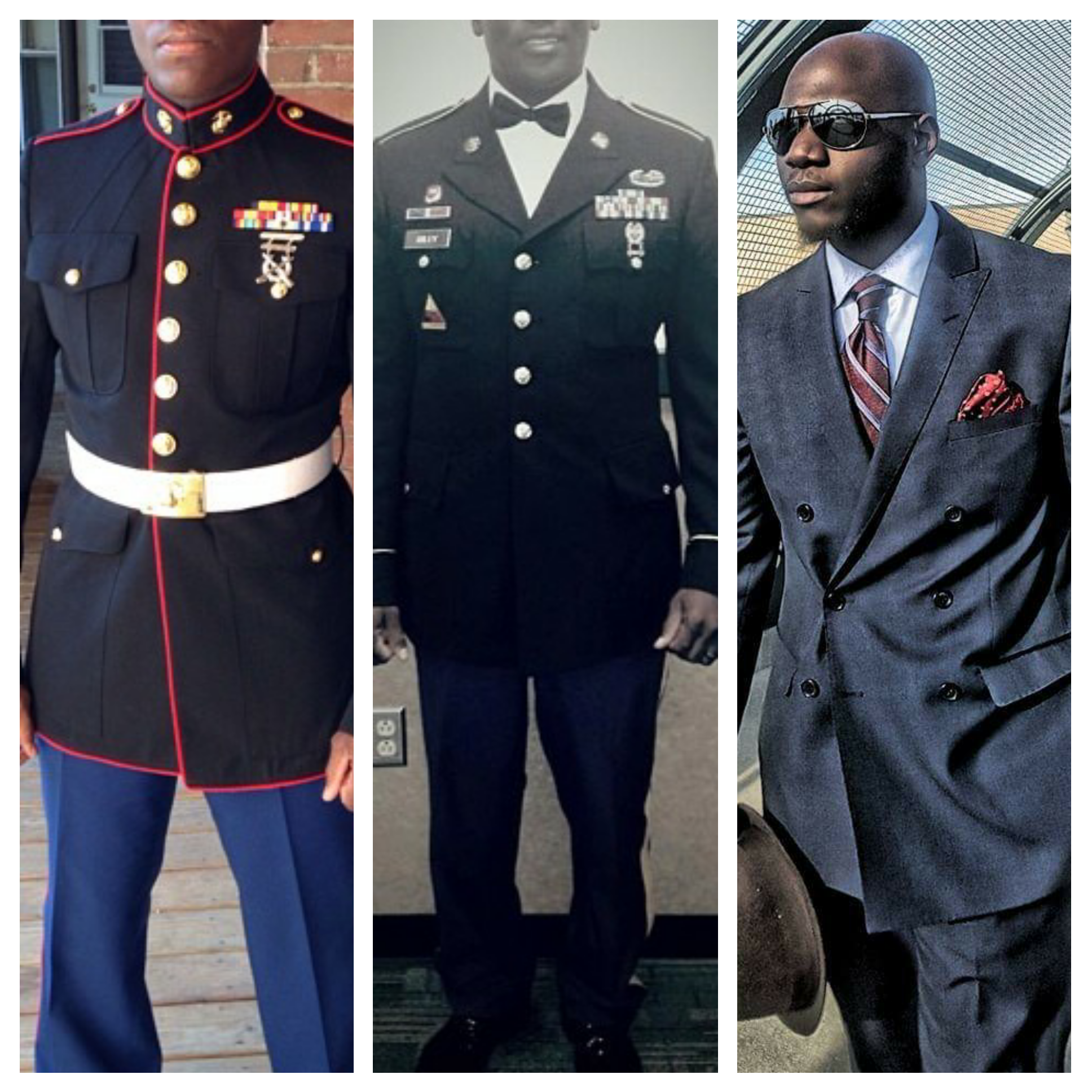 My brothers and I. See what a good tailor can do for you?