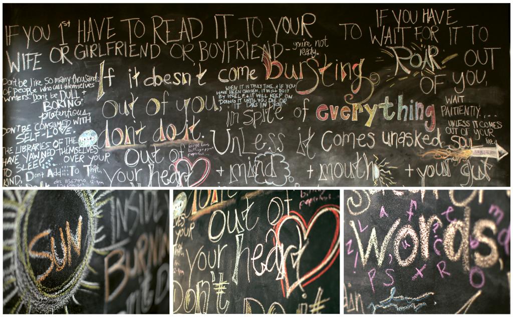 Purpose Chalkboard